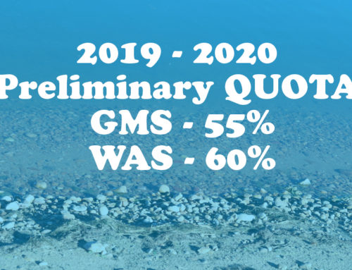 2019 Preliminary Quota