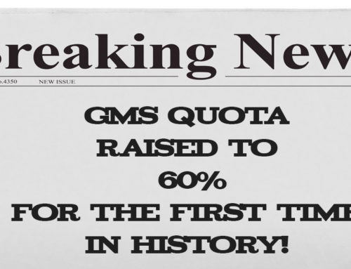 GMS Quota Raised to 60%